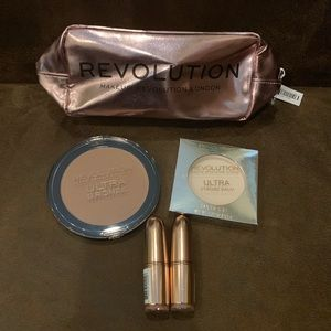 5-Piece Makeup Revolution Makeup Bundle Lot